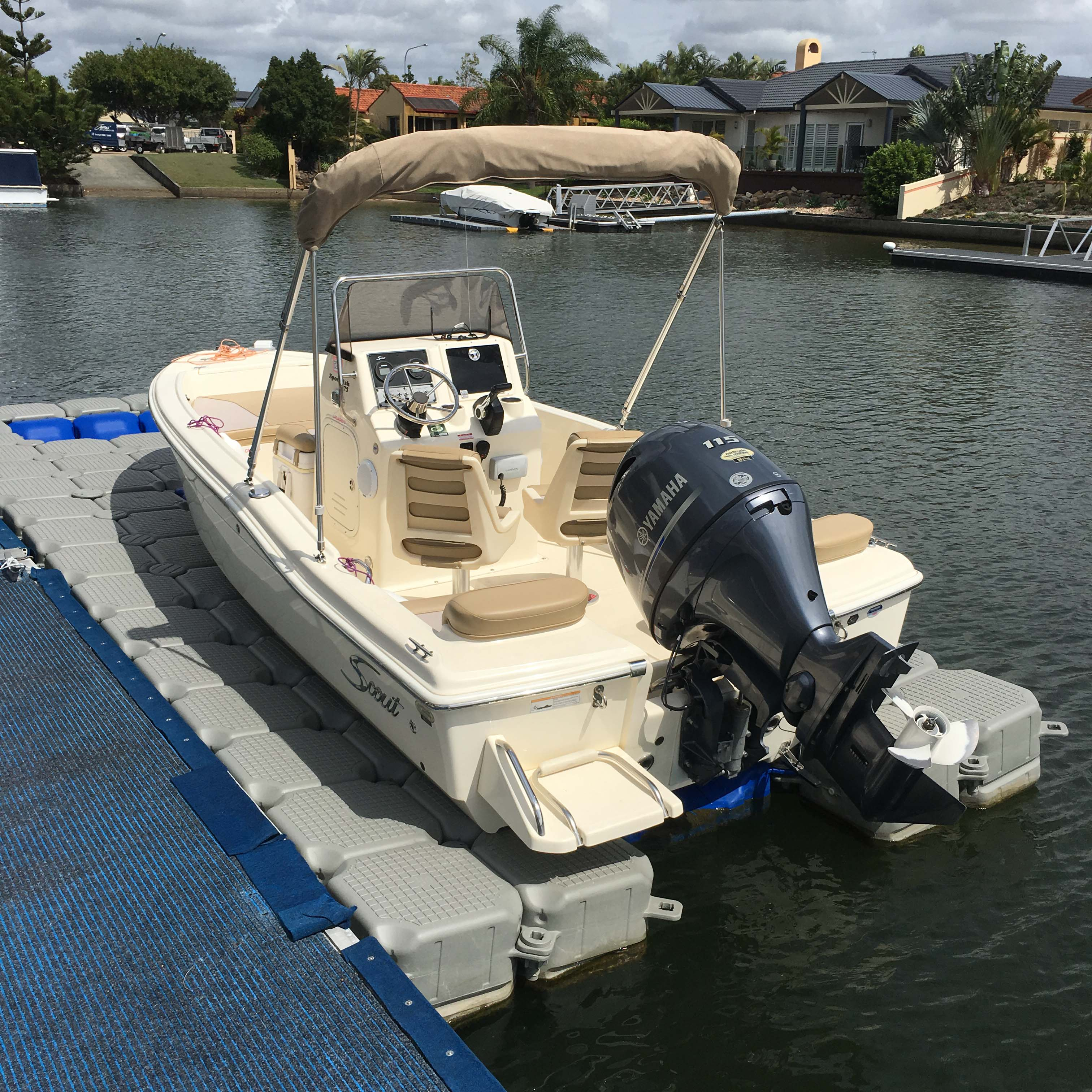 Ultimate Docking Systems Boat Dock